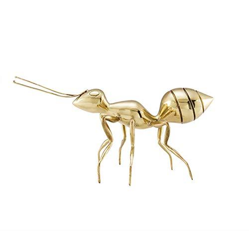 WNTHBJ Mier ambachten, koper decoratie, Europese creatieve dierlijke decoratie,Creatieve Animal Decoration Ornamenten