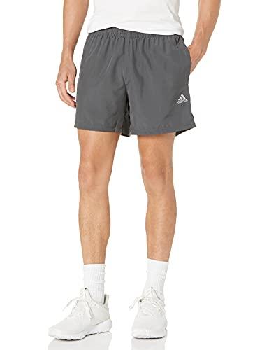 adidas Men's Standard Own The Run Shorts, Grey/Grey, X-Large