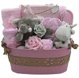 Cutie-Kins - Juego de cesta unisex para bebé de 12 piezas, regalo unisex, regalo para bebé, regalo para bebé, cesta de regalo unisex, regalo de maternidad/Paternidad, envío rápido