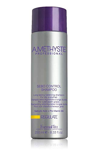 Farmavita Amethyste Champú Sebo-Regulador - 250 ml
