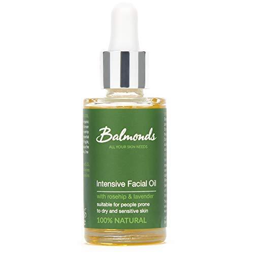 Balmonds Intensive Facial Oil 30 Millilitres 100% Natural Oil With Rosehip & Vitamin E