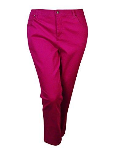 Charter Club Women's Kate Straight-Leg Jeans (2P, Deep Fuchsia)