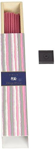Nippon Kodo Kayuragi Incense Sticks - Cherry Blossom, Japanese Quality Incense