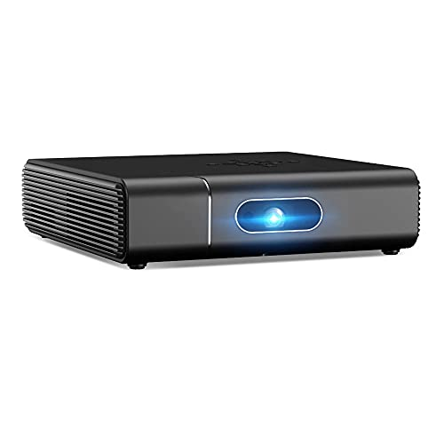 Siuber Proyector de Video LCD portátil a Todo Color LCD, con interfaces HDMI USB AV, para niños presentes, película de Video TV, Juego de Fiestas, Entretenimiento al Aire Libre