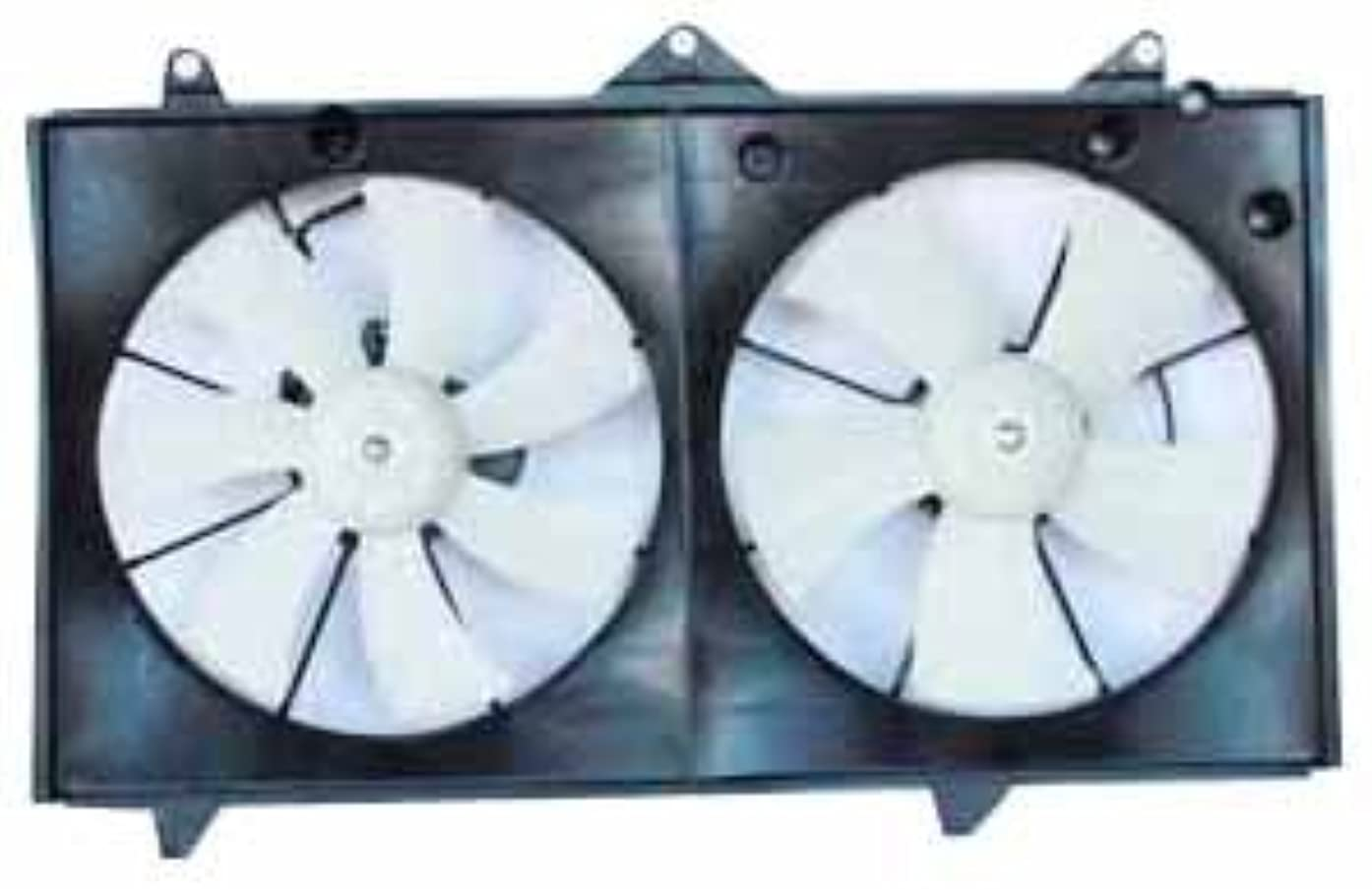 TYC 620400 Toyota Camry Replacement Radiator/Condenser Cooling Fan Assembly