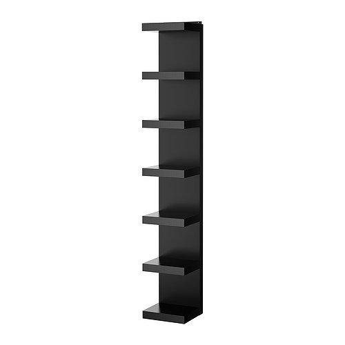IKEA Wall Shelf Unit, Black 11 3/4x74 3/4