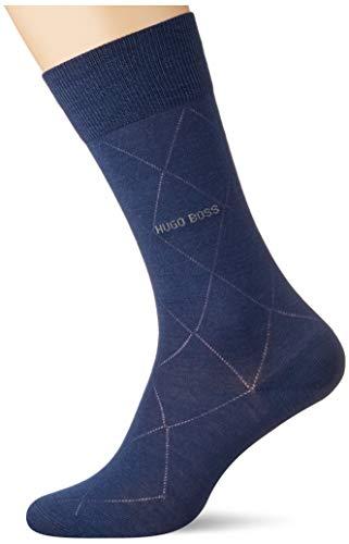 BOSS Herren John RS Colours WO Klassische Socken, Dark Blue402, 39-42