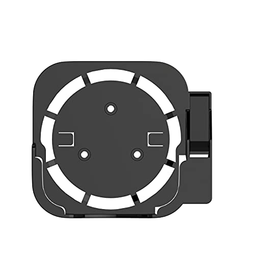 Mirabellinifred Soporte base para Apple TV - Soporte de pared compatible fácil de instalar Soporte de almacenamiento compatible con todos los para Apple TV