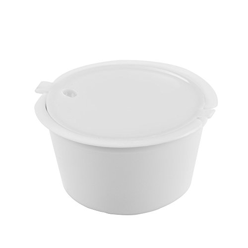 TopHGC Cápsulas de café Reutilizables, 3 cápsulas de café para filtrar Granos de café, Compatible con Nescafé Dolce Gusto