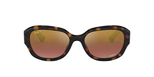Ray-Ban 4282ch Gafas de sol, Havana, 54 para Mujer