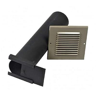 VESTAL Masonry Brick Fireplace Rear Outside Air Kit MOKR from Vestal