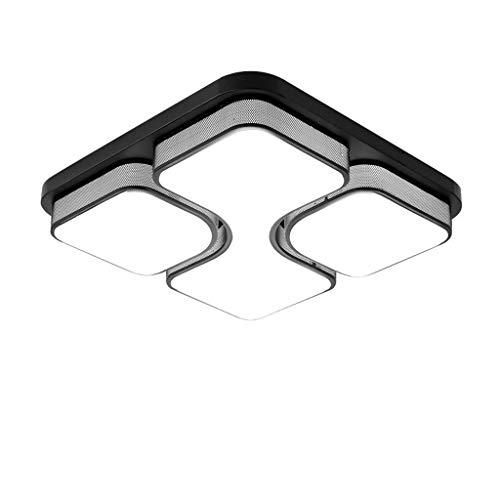 jinrun Lámpara de Techo Lámpara de Techo Cuadrados llevó Habitación Sala Comedor lámpara de Techo LED de Montaje Empotrado acrílico de luz Ambiental Lámpara plafón