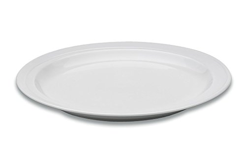 Berghoff Bianco Petite Assiette en Porcelaine vitrifiée, Blanc, 26. cm, 26 cm
