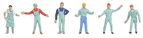 Faller S-H0 0286 - Fabrikarbeiter, Zubehör für die Modelleisenbahn, Modellbau