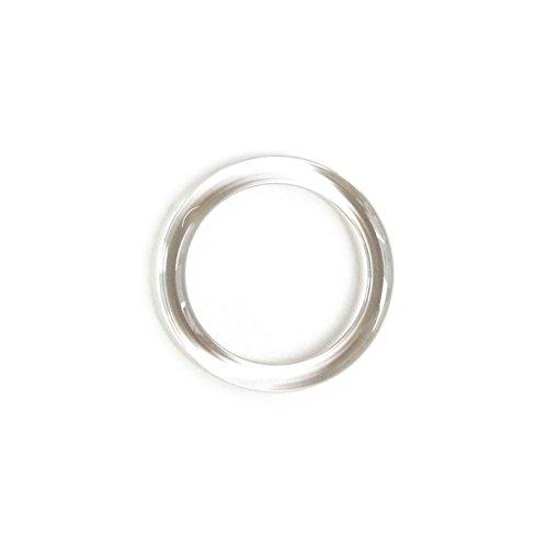 日立 シマムラ プラスチックリング 100個入り 21mm 透明 SSH-PR21 [0217]