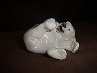 Royal Copenhagen Figurine Polar Bear Cub Playing #729