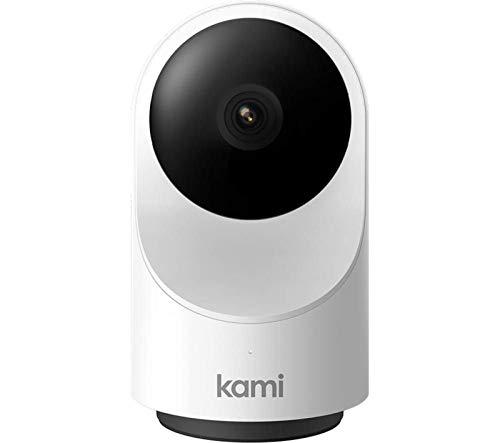 Kami Telecamera Wi-Fi Interno 360°PanTilt,Supporta Dual Banda Wifi 2.4 / 5 Ghz Camera 1080p per Interno ,con Notifiche Push a Tempo Reale,Rilevamento del Movimento,Audio Bidirezionale,Visione Notturna