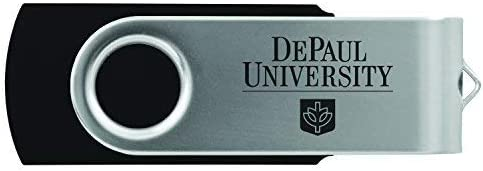 LXG, Inc. DePaul University -8GB 2.0 USB Flash Drive-Black