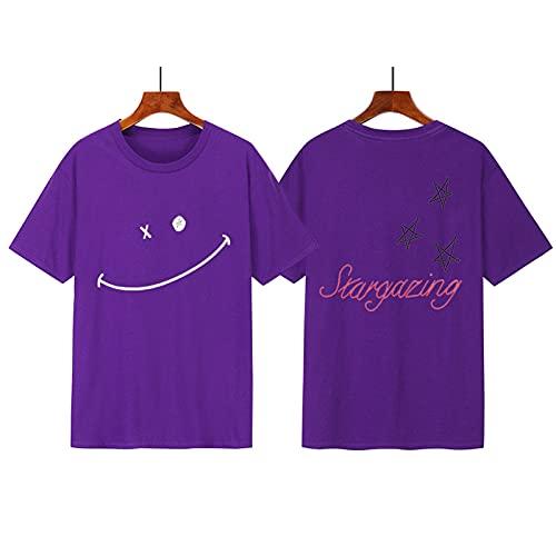 LIZCX Travis Scott Graffiti T-Shirt Sommeroberteile Für Herren Und Damen Mit Großen Kurzen Ärmeln