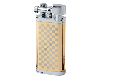 Lilka Classica Tobacco Pipe Lighter with Tamper & Pick - All in One - Flint Stone Finger Free Design