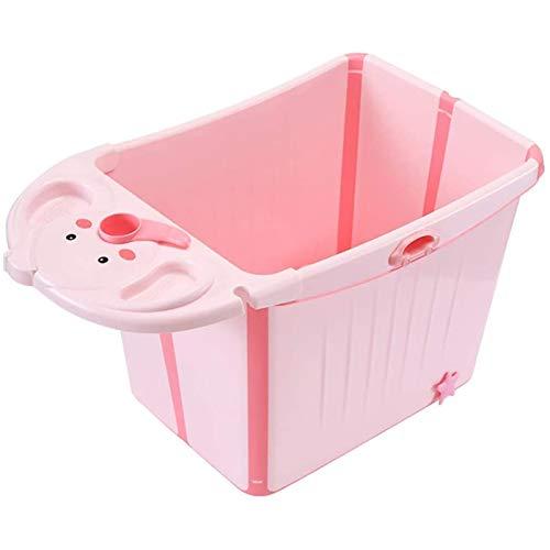 Qazxsw Bañera Plegable/Piscina Plegable para niños/Bañera Grande Grande para niños/Caja Fuerte y Material Respetuoso con el Medio Ambiente