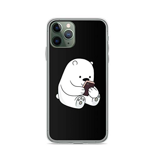 Phone Case We Bare Bears - Ice Bear Compatible with iPhone 6 6s 7 8 X XS XR 11 Pro Max SE 2020 Samsung Galaxy Absorption Scratch