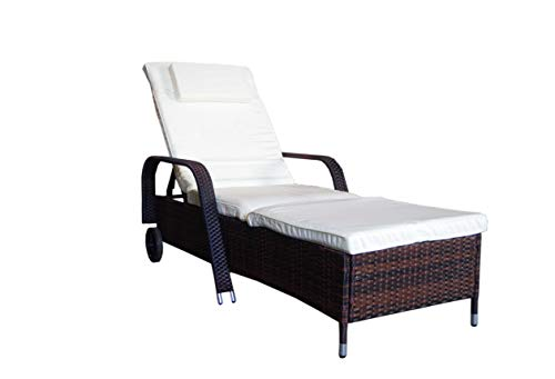 MK Outdoor -   Rattanliege Lounger