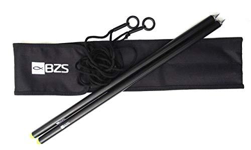 BZS Distanzstäbe für Karpfen-Angelruten-Messstäbe 12 Fuß Erhältlich in 500 mm, 600 mm und Compact 700 mm (500mm)