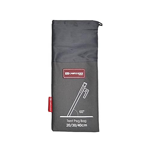 NSXIN Aufbewahrungsbeutel für Camping Zelt Heringe, Tragbare Zeltheringe Tasche, Zeltheringe Beutel Camping Tools Bag für Wandern Camping Zubehör (Groß)
