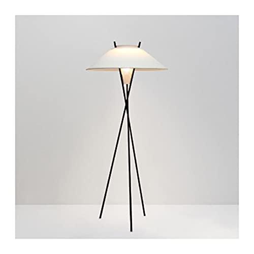 WYZ Moda Minimalista Sala de Estar Lámpara de pie Moderno Minimalista Trípode Arte Dormitorio Estudio Diseño Lámpara de pie
