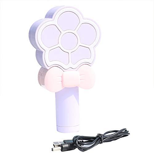 Haodou Mini Ventilador USB Recargable Mini ventilador de mano usb Flor de limón de dibujos animados con un pequeño ventilador