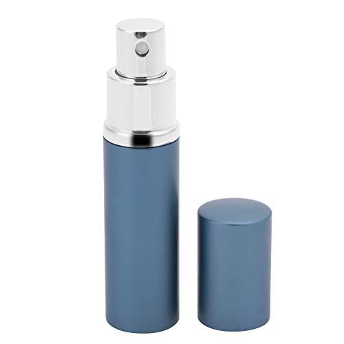 Mini Bouteilles D'atomiseur de Parfum de 10 Ml, Atomiseur Rechargeable Portatif de Bouteille de Jet de Pompe Vide de Parfum pour Voyager(Bleu)