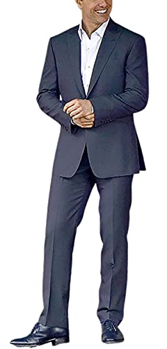 Ethan Hunt Mission Impossible Tom Cruise Marineblauer Anzug | Herren 2-teiliger Anzug Gr. Small, Nevy Blue – Tom Cruise Suit