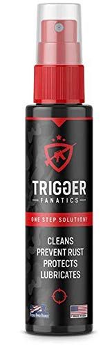 Trigger Fanatics 3 in 1 Gun Cleaner, One-Step Alternative to a Gun Cleaning Kit, Spray Bottle Gun Oil, Clean - Protect - Lubricate - Prevent Rust