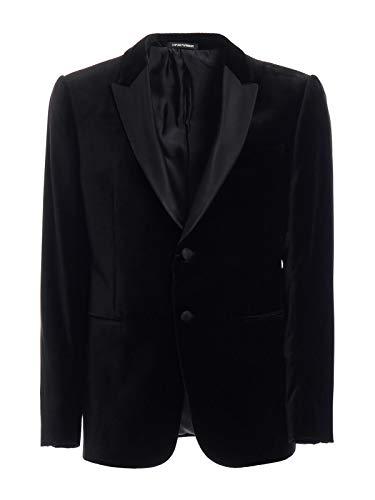 Emporio Armani Luxury Fashion Herren 11GMO011843999 Schwarz Polyester Blazer   Frühling Sommer 20