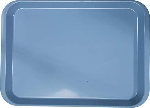 B-Lok Set-Up Flat Tray B 13 3 8 x 9 5 Blue Price reduction specialty shop in 7 Plas
