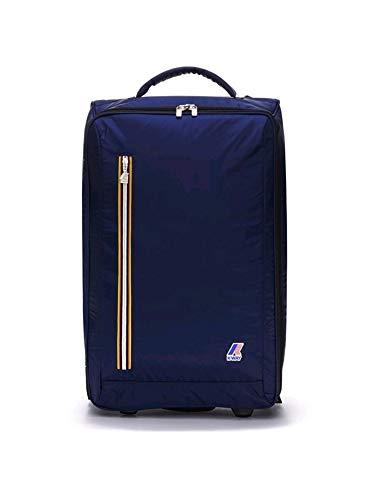 K-way - trolley k-way morbido k-pocket 1341 nylon blu leggero - 00269