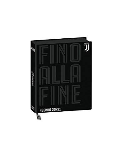 Diario Agenda Scuola Juve Nero 2020/2021 Datato 16 Mesi Pocket 15x11 cm + Penna Colorata Omaggio