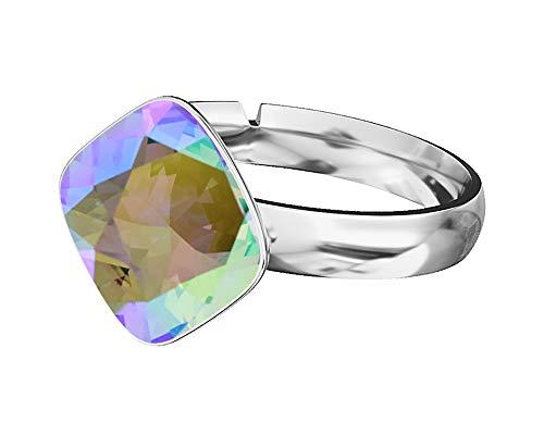 Crystals&Stones Niños Mujer plata Brilliantschliff