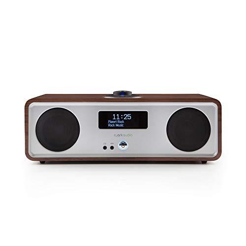 Ruark R2X-WAL R2S Audiosystem DAB +, Spotify, Braun