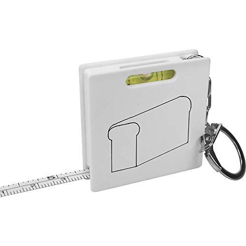 Azeeda 'EIN Leib Brot' Schlüsselring-Maßband / Wasserwaage (KM00007677)