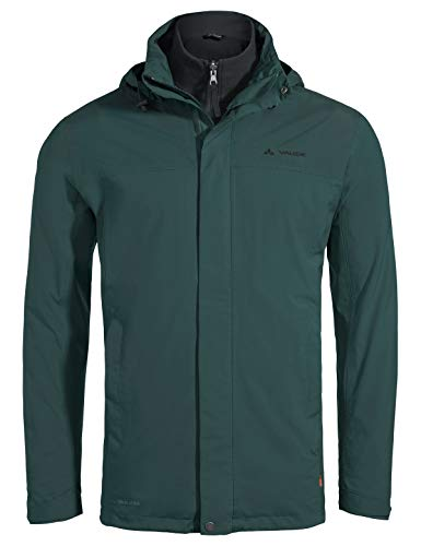 VAUDE Kintail 3in1 III Veste Homme, Quarz, FR (Taille Fabricant : XL)