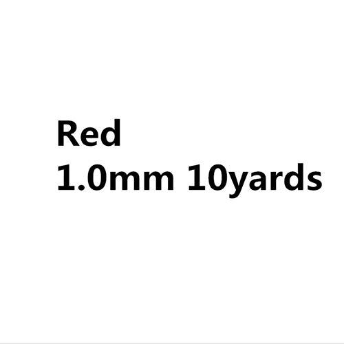 0,5 mm 0,8 mm 1 mm 1,5 mm 2 mm gewaxt katoen koord touw gewaxt draad koord koord riem ketting touw voor sieraden maken, rood 1,0 mm