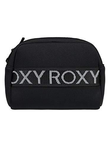 Roxy California Dreamin-- Bolso de neopreno con cremallera para mujer, color gris (antracita), talla única