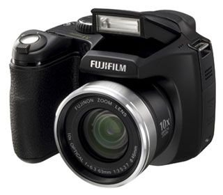 FujiFilm FinePix S5700 Digitalkamera (7 Megapixel, 10-Fach Opt. Zoom, 6,4 cm (2,5 Zoll) Display)