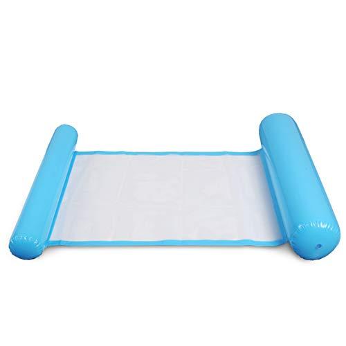 Sommer Faltbare Doppelnutzung Rückenlehne Schwimm Reihe mit einem Netto-Hängematte Wasserspiel Belustigung Liegestuhl Schwimmbettsofa,2