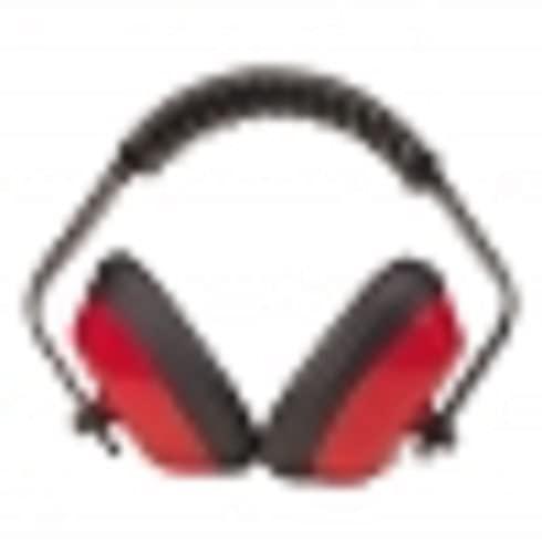 Tecomec 5135901 Auriculares protectores-27 dB, Rojo, Taglia Unica Unisex Adulto