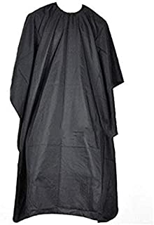 Haircut cape large size for salon, barber, Black