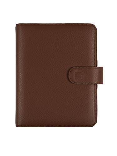 Finocam – 2022 Planner 1 Day Page, January 2022 – December 2022 (12 Months) 500 – 117x181mm Open Leo Organizer Brown Catalan