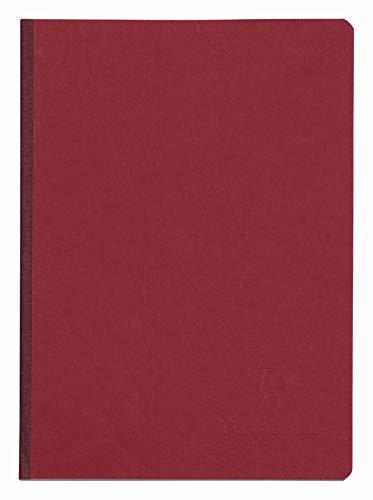 Clairefontaine 795402C - Cuaderno interior liso, 192 páginas, color rojo